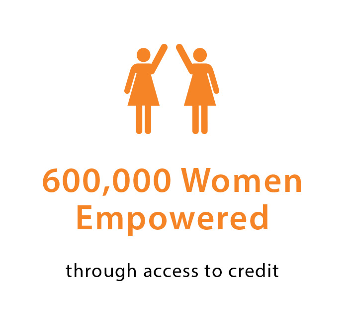 2.5 Million Women Empowered Icon