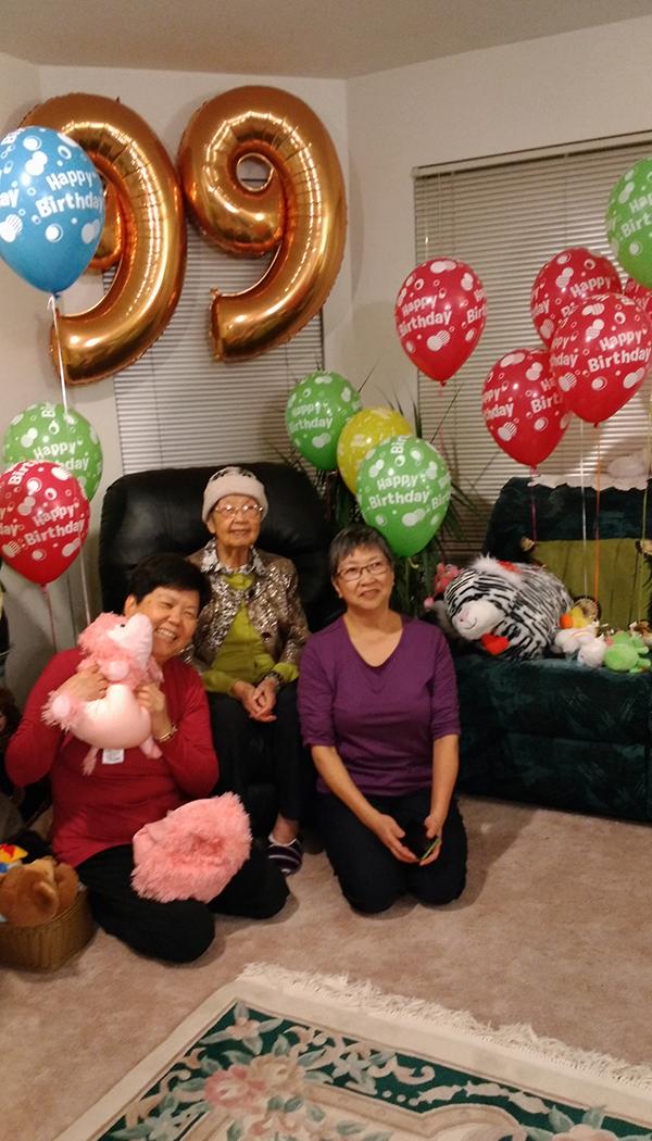 Teng Celebrates 99th Birthday