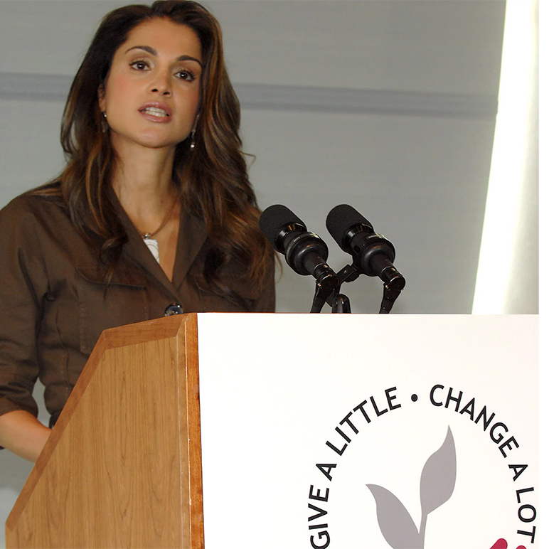 HER MAJESTY-Queen-Rania